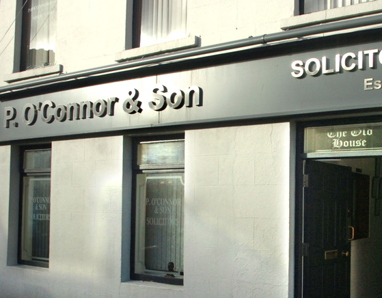 P-OConnor-Son-Solicitors-Office-In-Swinford Co Mayo